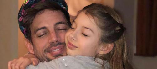 William Levy e sua filha, Kailey. (Reprodução Instagram/@kaileylevy19)