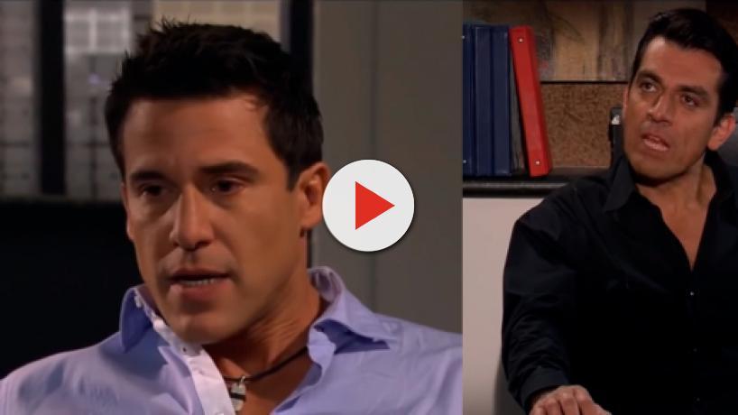 Para retirar a denúncia contra Miguel, David chantageia Rogério em 'A Que Não Podia Amar'