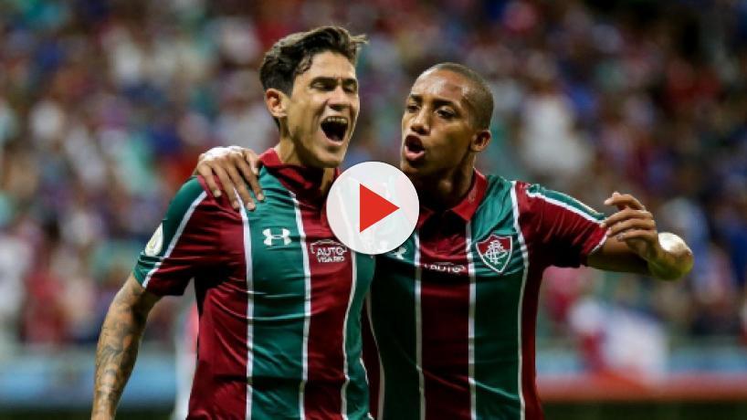 Exame não detecta lesão grave em Pedro e Fluminense se tranquiliza