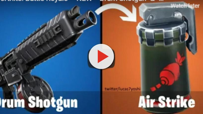 'Fortnite:' Leaks suggest of AirStrike item, new LTMs, and Drum Shotgun