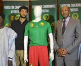 """Présentation du nouvel équipementier des Lions Indomptables """"Le coq sportif"""" le 19 juin 2019 à l'hôtel Hilton de Yaoundé © Odile Pahai"""
