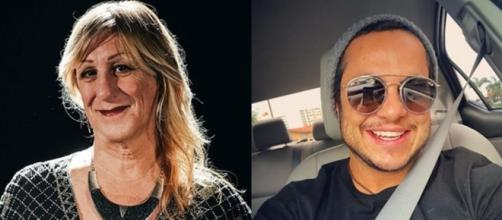 Laerte Coutinho e Thammy Miranda são alguns dos famosos que assumiram um novo gênero. (Reprodução/Instagram/@laertegenial/@thammymiranda)