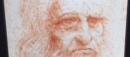 Leonardo da Vinci in un suo Autoritratto