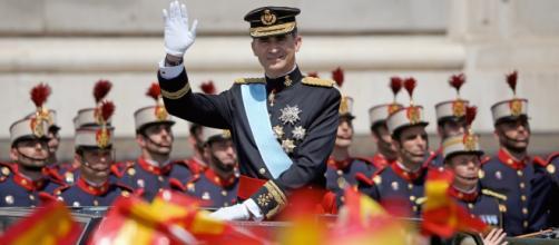 Felipe VI, el día de su proclamación como Rey de España.