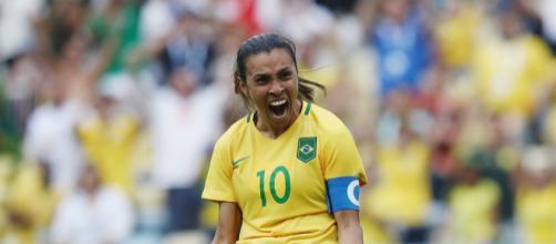 Marta se tornou a maior artilheira de Copas do Mundo. (Arquivo Blasting News)