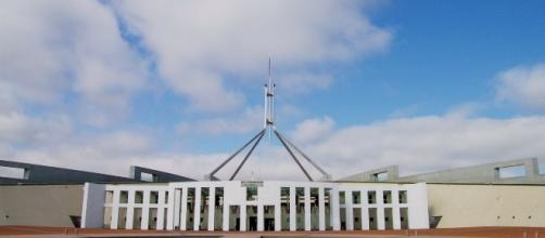 Parliament House in Canberra, ACT. [Image via helen35 - Pixabay]