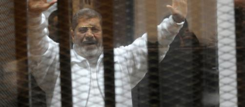 President Morsi on trial- [Photo Credit - Cbsnews/Youtube Screencap]
