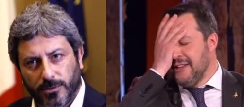 Ancora uno scontro Fico-Salvini