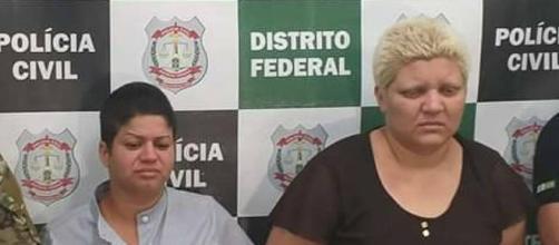 Mãe matou o filho de 9 anos com ajuda da companheira. (Divulgação/Polícia Civil-DF)