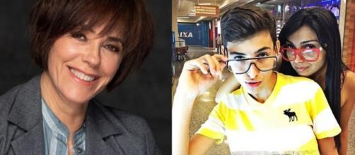 Christiane Torloni e Eyshila Santos se despediram dos filhos precocemente. (Reprodução/Instagram/@christorloni/@eyshilasantos)