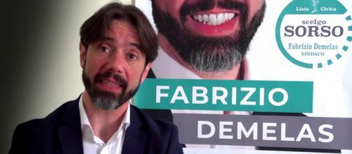 Fabrizio Demelas, sindaco di Sorso - Fonte: YouTube