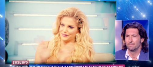 Francesca Cipriani e Walter Nudo a Live Non è la D'Urso