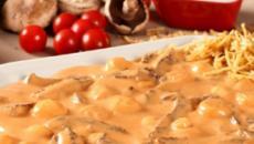 Estrogonofe, prato de origem russa, é versátil e bem fácil de se fazer
