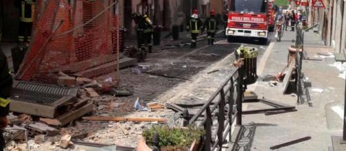 La terribile esplosione a Rocca di Papa (Roma)