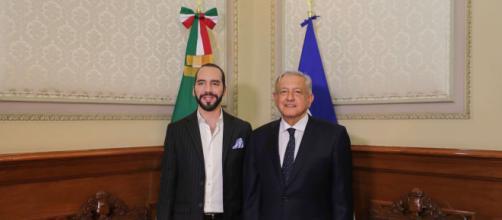 Los presidentes de El Salvador y México suscriben acuerdo para ayudar al desarrollo económico binacional. - google.com