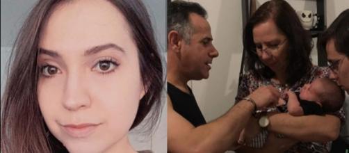 Rafael Miguel e os pais foram assassinados a tiros pelo pai na namorada do ator. (Reprodução/Instagram/@cahmiguel)
