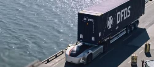 Volvo Trucks' autonomous Vera vehicle - Image Credit - Volvo Trucks / YouTube