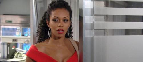 Young and the Restless spoilers; Hilary retourns to Genoa City (image credit - Young and Restless Twitter Verified account)