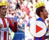 Griezmann e Neymar trocam gentilezas em rede social. (Arquivo Blasting News)