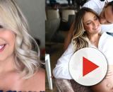 Ticiane Pinheiro e Marília Mendonça estão grávidas. (Reprodução/ Instagram/ @mariliamendoncacantora/ @ticipinheiro)