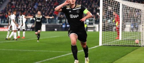 de Ligt dell'Ajax è vicino alla Juventus