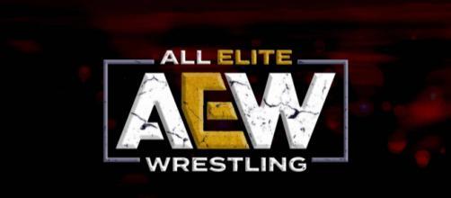 Logo de la compañía All Elite Wrestling.