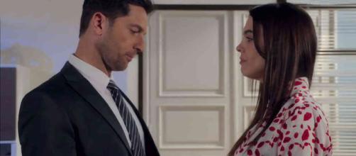 Aldo (Luca Capuano) Beatrice (Marina Crialesi)