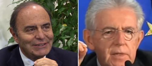 Bruno Vespa offre un giudizio negativo dell'opera del governo Monti (ph. YouTube).
