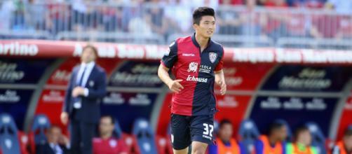 L'attaccante di proprietà del Cagliari Han Kwang Songi