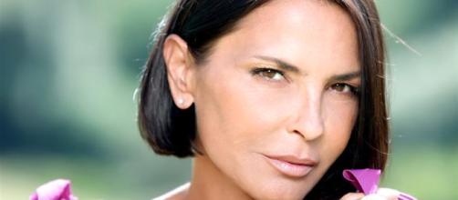L'attrice della soap opera 'Un posto al sole'.