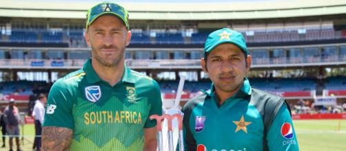 South Africa hope to bounce back against buoyant Pakistan - (Image via ICC/Twitter)