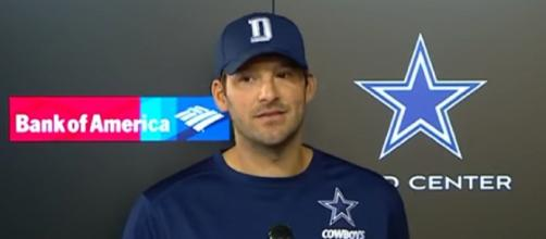 Tony Romo played 14 seasons for the Dallas Cowboys (Image Credit: NFL/YouTube)