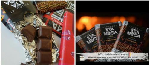 Chocolat de production camerounaise Nya Mboa de la SOCTRACAO © Odile Pahai