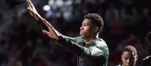 Giannis Antetokounmpo is expected to be named league MVP for the 2018-19 season. [Image Source: Flickr | Dan Garcia]