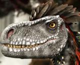 The Deinonychus in ARK's Valguero. [Image source: ThickFreedom/YouTube]