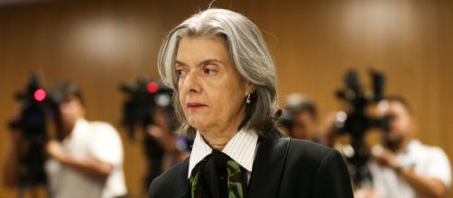 Cármen Lúcia nega que tenha deixado caso de Lula para último da lista da Segunda Turma. (Arquivo da Blasting News)