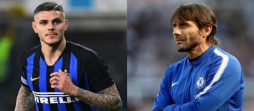 Inter: Conte non vorrebbe Icardi al ritiro estivo di Lugano.