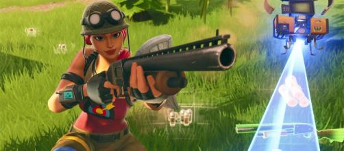 Pump Shotgun is back to 'Fortnite Battle Royale.' [Image Source: In-game screenshot]