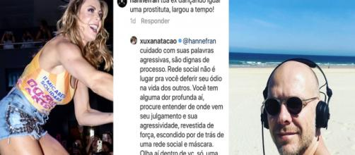 Juntos Sheila e Xuxa são pais de uma menina de seis anos. (Reprodução/Instagram/@sheilamello/@xuxanatacao)