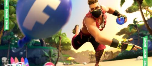 Splashdown LTM is now available in 'Fortnite.' [Image Source: Epic Games promotional material]