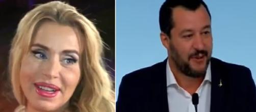 Valeria Marini ha un'opinione positiva di Matteo Salvini.