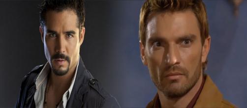 Bruno e Gustavo são inimigos em 'A Que Não Podia Amar'. (Reprodução/Televisa)