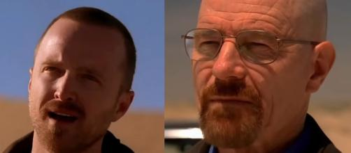 Bryan Cranston and Aaron Paul just teased a reunion between Walter White and Jesse Pinkman [Image Nicky Kelly/YouTube]