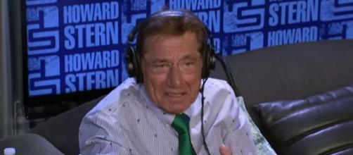 Joe Namath makes his declaration on The Howard Stern Show (Image Credit: The Howard Stern Show/YouTube)