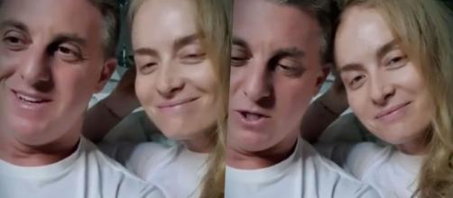 Luciano Huck e Angélica aparecem em vídeo após alta do filho. (Arquivo Blasting News)