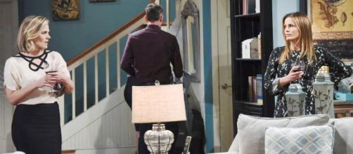 Adam is caught between Chelsea and Chloe on Y&R. (Image Source:CBS soaps spoilers-YouTube.)