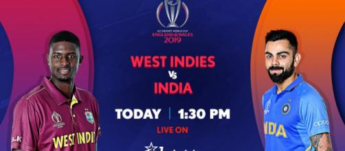 India vs West Indies on Star Sports (Image via Star Sports/Twitter)