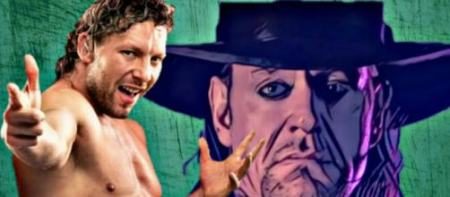 Kenny Omega rips WWE, Undertaker to face Drew McIntyre at Wrestlemania. Image Credits WWE/AEW/YouTube