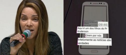 O celular jogado no mar seria de Flávio dos Santos, suspeito de assassinar Anderson do Carmo. (Reprodução/TV Globo)