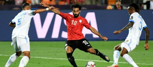 Salah metió un golazo para sentenciar el partido. - alaraby.co.uk